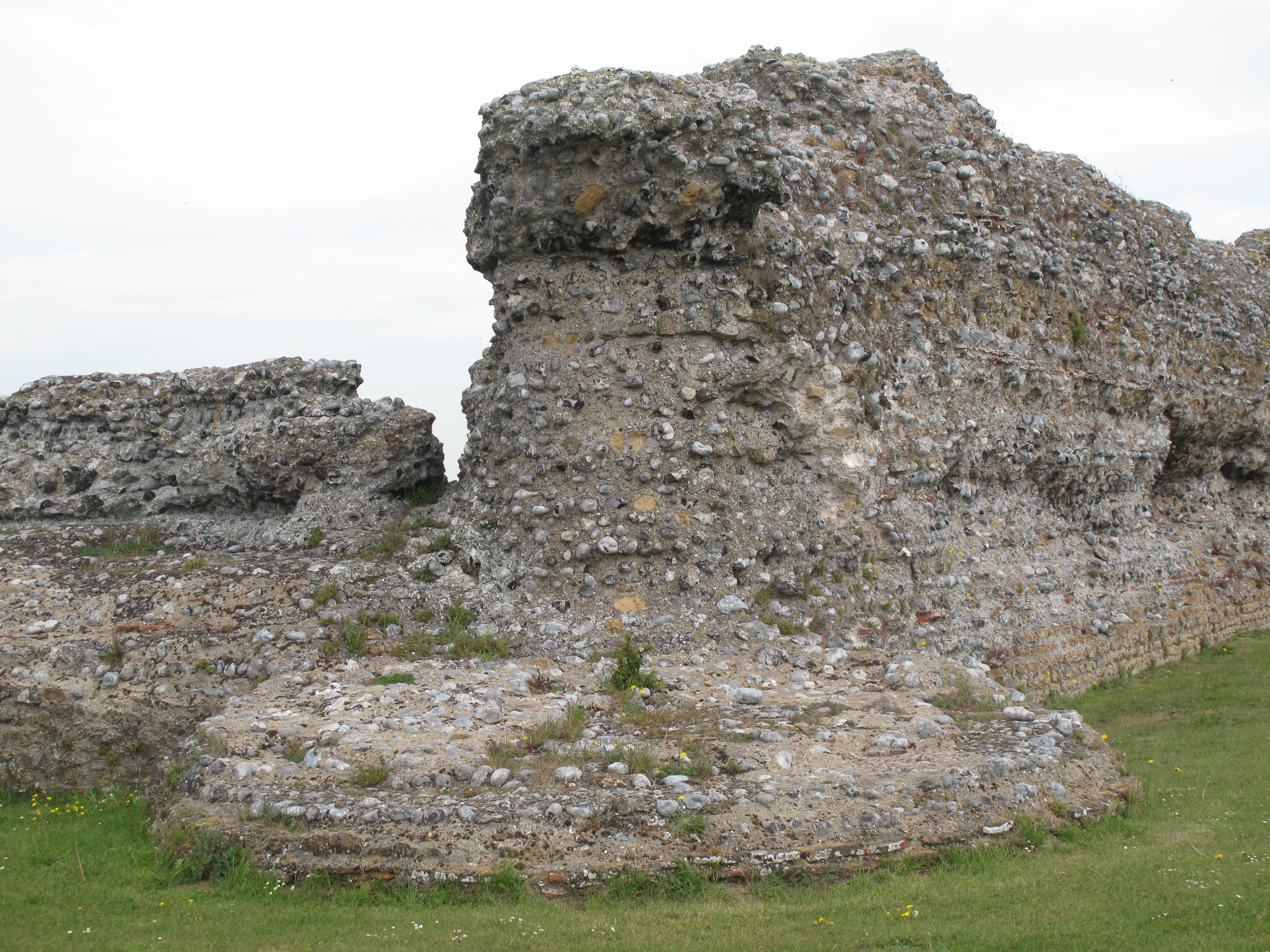 Bastion of Fort at Richborough