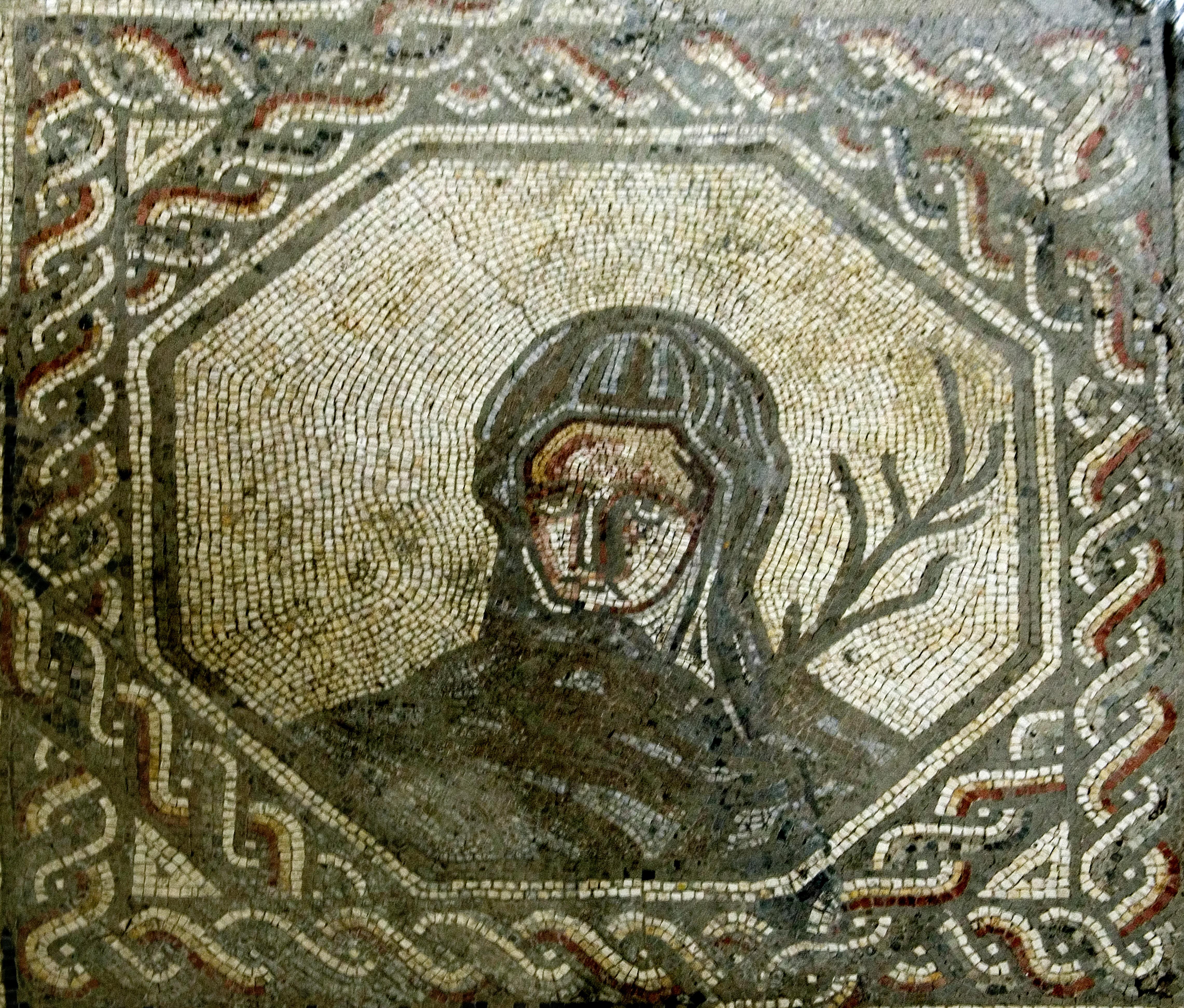 Winter Mosaic from Bignor Villa